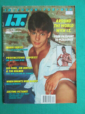 In Touch For Men #139 - Usa - June 1988 - Vintage Gay Interest Magazine