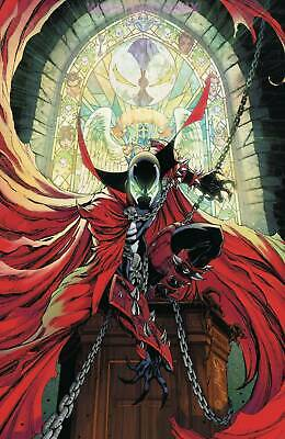 Spawn #300 Cover M J Scott Campbell Virgin Variant Cover Anniversary Issue 1