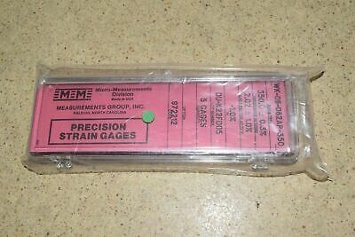 Vishay Micro Measurements Precision Strain Gage EP-08-062TT-350 5 pk gages NEW