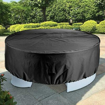 Patio Table Chair Set Cover For Garden Outdoor Round Furniture Cover Waterproof