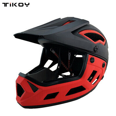 Adult OFF-Road Full Face Motorcycle Helmet MTB Downhill Bicycle Safety Helmet
