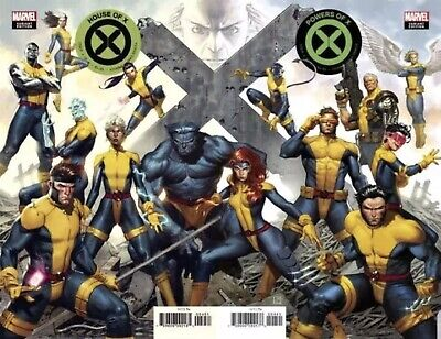 HOUSE OF X 4 & Powers Of X 4 Molina Connecting Var 2019 NM 9/11 PreSell