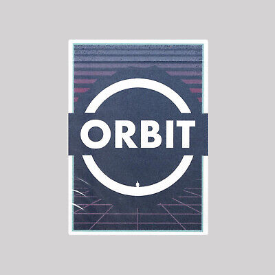 Orbit V7 Playing Cards & Clear Protective Playing Cards Case