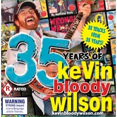 KEVIN BLOODY WILSON 35 Years Of Kevin Bloody Wilson 35 TRAX 2CD NEW