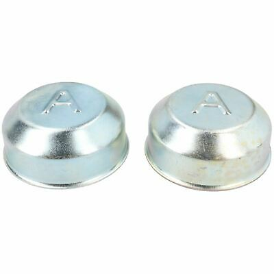 2 Pack Avonride Dust Cap 74.5mm Wheel Hub Trailer Bearing Grease Cover