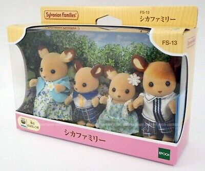 Epoch Calico Critters dolls deer family FS-13