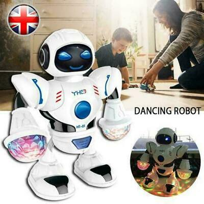 Music Dancing Robot Toys For Boys Kids  for 3-10 Years Age Gifts M8X7O