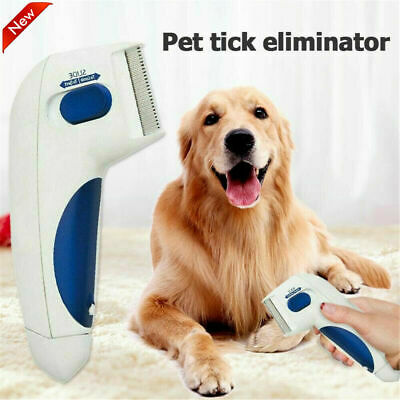 Flea Doctor Comb Electric Dog Anti Flea Comb Head Lice Remover Pets Flea Control