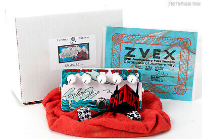 ZVEX Effects 20th Anniversary Fuzz Factory Guitar Pedal, 4 of 20 - Hand Painted