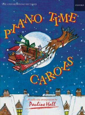 Piano Time Carols, Paperback by Hall, Pauline, Brand New, Free P&P in the UK