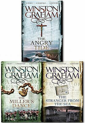 Winston Graham Poldark Series Collection Set A Novel of Cornwall Volume 7 to 9