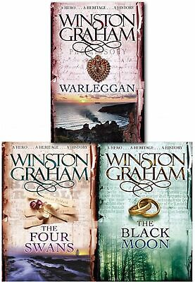 Winston Graham Poldark Series Collection Set A Novel of Cornwall Volume 4 to 6