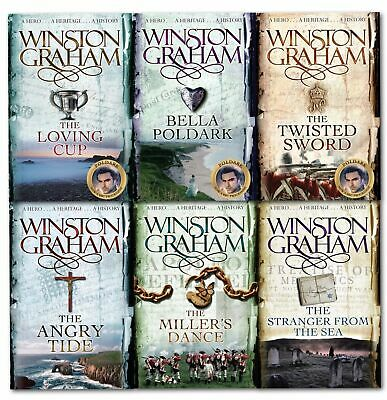 Winston Graham Poldark Series Collection Set A Novel of Cornwall Volume 7 to 12