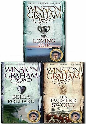 Winston Graham Poldark Series Collection Set A Novel of Cornwall Volume 10 to 12
