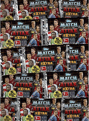 Topps Match Attax Extra /Trading Cards/ 10 Bags Boxed / 2012-2013/12-13