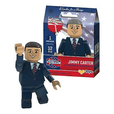 Jimmy Carter 39th President Oyo Américain Pride Minifigure
