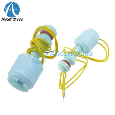 5PCS PP Liquid Water Level Sensor Horizontal Float Switch Down 52mm Switch