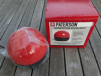 New Paterson PTP760 Darkroom Safelight - Top Quality Darkroom Accessory