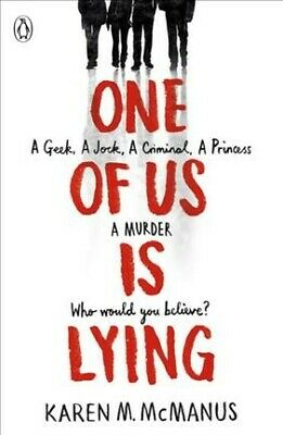 One of Us Is Lying, Paperback by McManus, Karen M., Brand New, Free P&P in th...