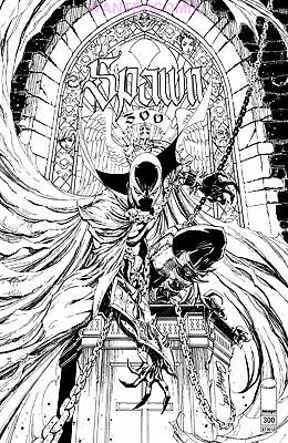 Spawn #300 Cover N Scott Campbell Sketch Variant Cover Sept 2019 New 1 Sold Out