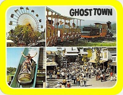 postcard 5.25x6.75 Storytown - GHOST TOWN Lake George, NY