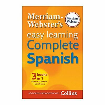 Merriam-Webster's Easy Learning Complete Spanish, New Edition, 2016 copyright