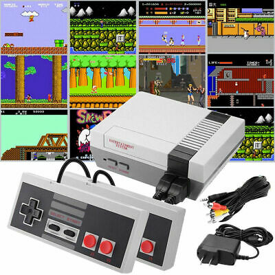 Retro TV Video Handheld 4 Keys Games Console Built-in 620 Classic Games for NES