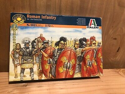 ROMAN INFANTRY 1st-2nd Century B.C # 6021 1/72 Scale