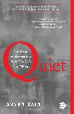 Quiet : The Power of Introverts in a World That Can't Stop Talking, Paperback...
