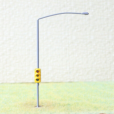 1 x traffic signal with street light HO OO scale model railroad led lamps #colGO