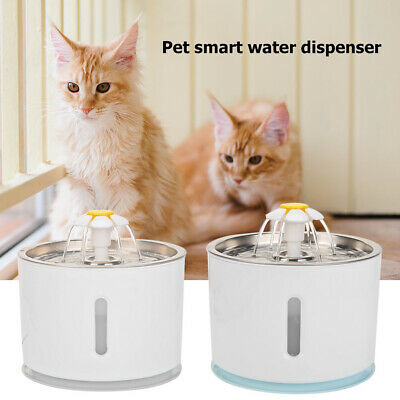 2.4L Silent Automatic Pet Water Fountain Cat Dog Health Caring Water Dispenser
