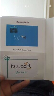 Buyagift Bungee Jump Experience Gift Voucher