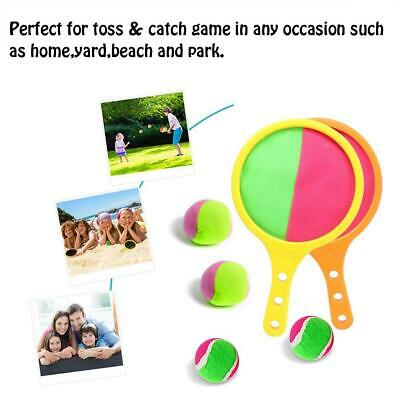 Outdoor Toss Catch Game Racket Kits Sports Toy Kids Presents For Summer Beach