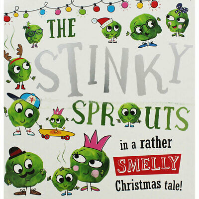 The Stinky Sprouts Smelly Christmas Tale by Rosie Greening, Multibuys, Brand New