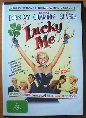Lucky Me - DVD - New and Sealed - Doris Day, Robert Cummings, Phil Silvers