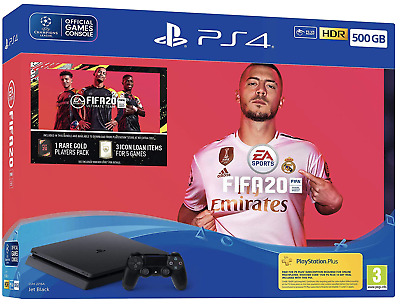 FIFA 20 500GB PS4 Bundle (PS4) BRAND NEW AND SEALED - IN STOCK - QUICK DISPATCH