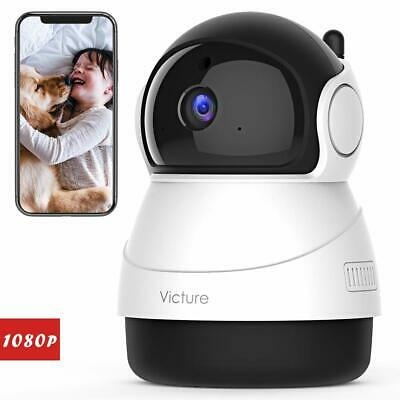 Victure 1080P FHD WiFi IP Camera Wireless Indoor Camera with Night Vision Motion