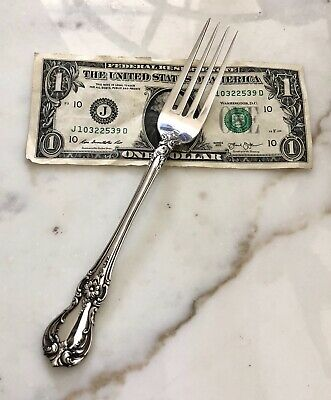 """Towle OLD MASTER Sterling Silver 7 3/4"""" Dinner Fork-NO MONO-60g"""