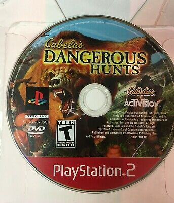 Cabela's Dangerous Hunts (Greatest Hits) - PS2 (Playstation 2)
