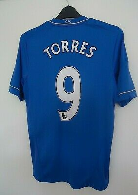 Chelsea Official  Football Shirt By Adidas Torres No9 Seasons 2012/13