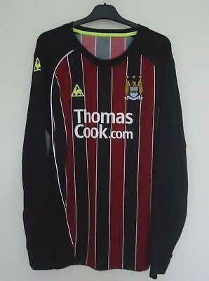 Manchester City  Official  Football  Shirt By Le Coq Sportif  Size Xxl -2008/09