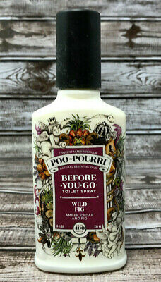 Poo Pourri Before You Go Toilet Spray Wild Fig 8 Fl. Oz. 236mL New Free Shipping