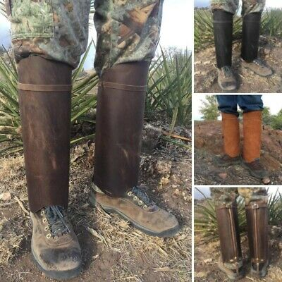 Snake Gaiters Canvas World War Two WW2 Reproduction Chaps Army Military Leg Camp