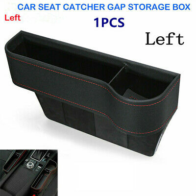 1PC Auto Car Seat Gap Storage Box Organizer Cup Phone Coin Holder Crevice Pocket