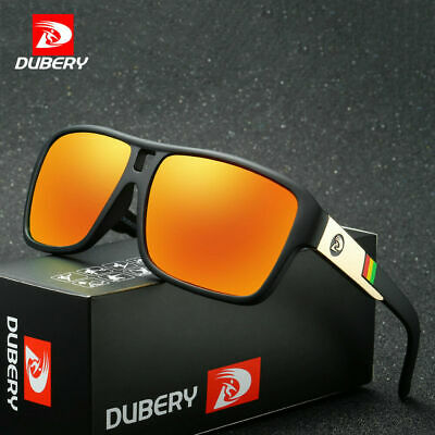 DUBERY Men's Sport Polarized Driving Sunglasses Outdoor Riding Fishing Goggles ~