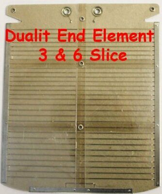 Toaster Element: Dualit Dualit 6 Slot end toaster element End