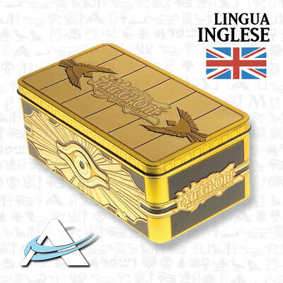 Tin 2019 Sarcofago d'Oro Gold Sarcophagus INGLESE • TN19 MP19 Yugioh Cofanetto