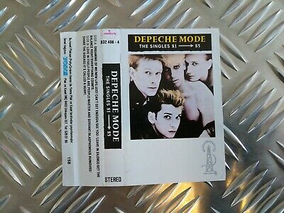 DEPECHE MODE The Singles 81 - 85 Turkey cassette 832 406-4