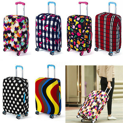 Elastic Travel Luggage Suitcase Spandex Dust-proof Cover Protector For 18''~