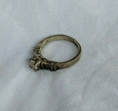 Ancient Ring Viking Artifact Legionary Old With Stuning Stone Extremely Rare